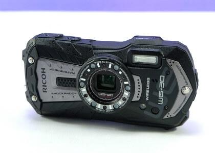 リコー防水カメラ WG-30 の画像です