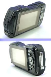 リコー防水カメラWG-30の背面画像です